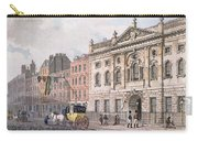 The South Front Of Ironmongers Hall, From R. Ackermanns Repository Of Arts 1811 Colour Litho Carry-all Pouch