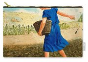 The Sower Of The Seed Carry-all Pouch by Clive Uptton