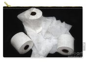 The Spare Rolls 3 - Toilet Paper - Bathroom Design - Restroom - Powder Room Carry-all Pouch