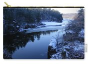 The St. Croix River In December Carry-all Pouch