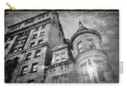 The Stafford Hotel - Grayscale Carry-all Pouch