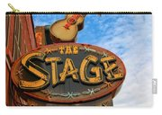 The Stage On Broadway Carry-all Pouch by Dan Sproul