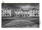The Stanley Hotel Bw Carry-all Pouch