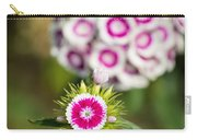The Star - Beautiful Spring Dianthus Flowers In Bloom. Carry-all Pouch