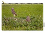 The Stares Of The Burrowing Owls Carry-all Pouch