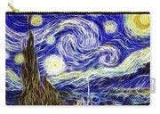 The Starry Night Reimagined Carry-all Pouch