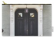 The Stockade Door In Schenectady New York Carry-all Pouch by Lisa Russo