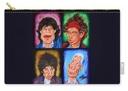 The Rolling Stones Carry-all Pouch by Dan Haraga