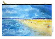 The Storm Arrives At The Beach Carry-all Pouch