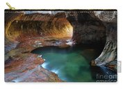 The Subway Sacred Light Carry-all Pouch by Bob Christopher