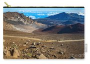 The Summit Of Haleakala Volcano In Maui. Carry-all Pouch
