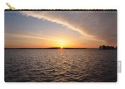 The Sun Coming Up On The Chesapeake Carry-all Pouch