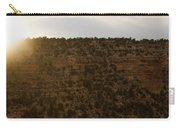 The Sun Sets Behind The Canyon Carry-all Pouch