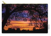 The Sun Sets For Mike Carry-all Pouch