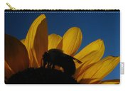 The Sunflower And The Bee Carry-all Pouch