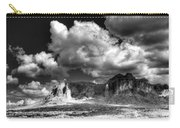 The Superstitions - Black And White  Carry-all Pouch