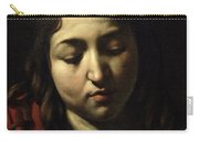 The Supper At Emmaus Carry-all Pouch by Michelangelo Merisi da Caravaggio