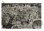 The Swinging Tree Sepia Carry-all Pouch