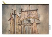 The Tall Ship Peacemaker Carry-all Pouch by Dale Kincaid