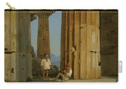 The Temple Of Poseidon. Paestum Carry-all Pouch