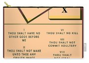 The Ten Commandments Carry-all Pouch