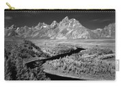 309217-the Teton Range From Snake River Overlook Carry-all Pouch