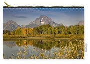 The Tetons And Fall Colors Carry-all Pouch