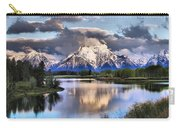 The Tetons From Oxbow Bend Carry-all Pouch