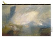 The Thames Above Waterloo Bridge Carry-all Pouch