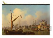 The Thames And Tower Of London On The King's Birthday Carry-all Pouch