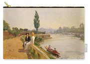 The Thames At Hampton Court Carry-all Pouch
