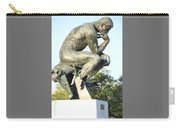 The Thinker Cleveland Art Statue Carry-all Pouch