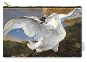 The Threatened Swan Carry-all Pouch