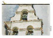 The Three-bell Campanario At Mission San Juan Bautista  Carry-all Pouch