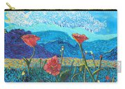 The Three Poppies Carry-all Pouch