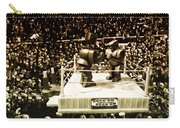 The Thrilla In Toyvilla Carry-all Pouch by Bill Cannon