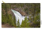 The Thundering Lower Yellowstone Falls Carry-all Pouch