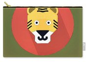 The Tiger Cute Portrait Carry-all Pouch