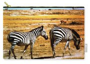 The Tired Zebras Carry-all Pouch