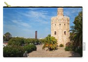 The Torre Del Oro, Gold Tower, Military Carry-all Pouch