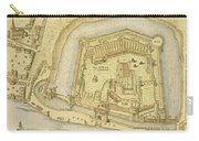 The Tower Of London, From A Survey Made Carry-all Pouch