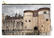 The Tower Of London Uk The Historic Royal Palace And Fortress Carry-all Pouch