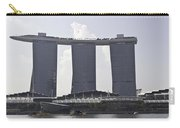 The Towers Of The Iconic Marina Bay Sands In Singapore Carry-all Pouch