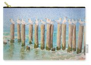 The Town Meeting Carry-all Pouch by Mary Ellen Mueller Legault