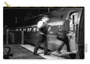 The Train Conductor Carry-all Pouch by Bob Orsillo