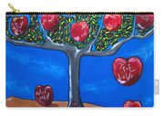 The Tree Of Life Carry-all Pouch by Sandra Marie Adams