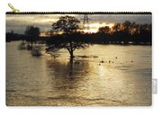 The Trent Washlands In Full Flood Carry-all Pouch
