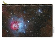 The Trifid Nebula And Messier 21 Carry-all Pouch