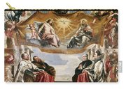 The Trinity Adored By The Duke Of Mantua And His Family Carry-all Pouch