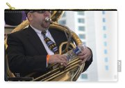 The Tuba Player Carry-all Pouch